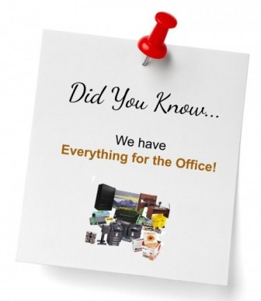 Did You Know - Everything For The Office